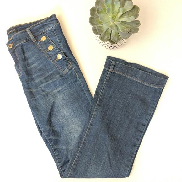 900bf1c8b2dd Joe Fresh Denim - Joe Fresh Sailor Style Wide Leg Jeans 0322